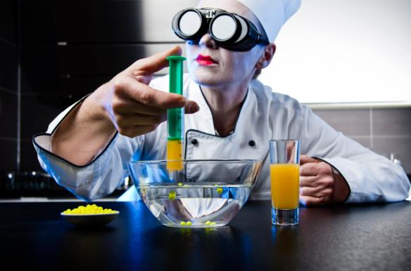 Molekularküche: Molekulare Küche in der Praxis.